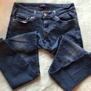 Levi's Dark Wash 535 Skinny Jeans Jegging - Size 9